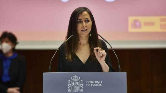 La ministra de Derechos Sociales y Agenda 2030, Ione Belarra.