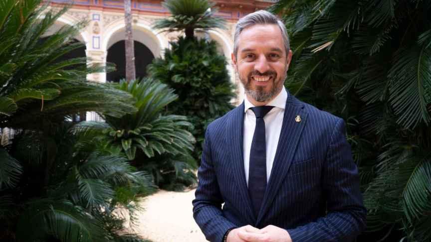 El consejero de Hacienda y Financiación Europea de la Junta de Andalucía, Juan Bravo.