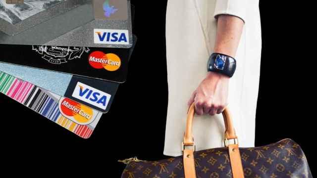 Imagen de compras pagadas con tarjeta.