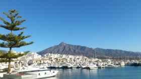 Puerto deportivo de Marbella.