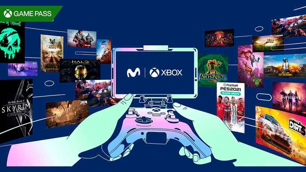 Xbox y Movistar