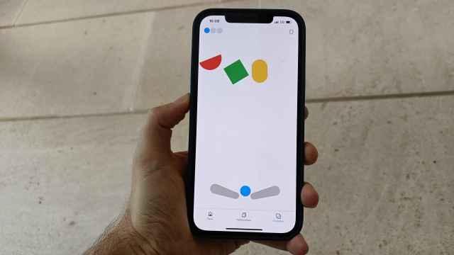 Pinball oculto de Google en el iPhone