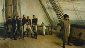 Napoleón en el Bellerophon (William Quiller Orchardson, 1880).