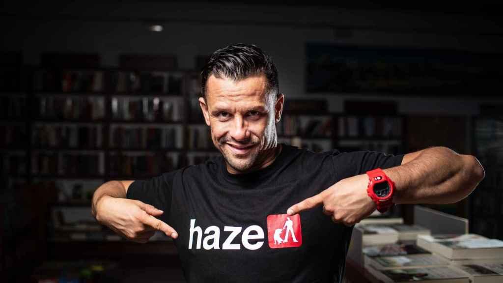 Haze se ha encerrado a estudiar la oposición los pasados 17 meses.