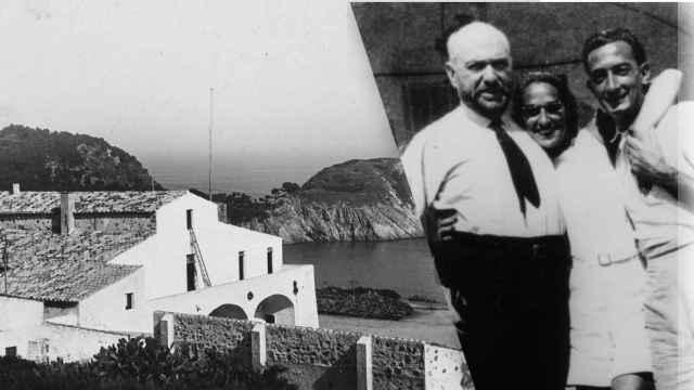 Josep Mª Sert, Gala y Salvador Dalí y el Mas Juny, [1934].
