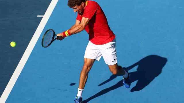 Las mejores imágenes del triunfo de Pablo Carreño ante un desesperado Djokovic: así se llevó el bronce
