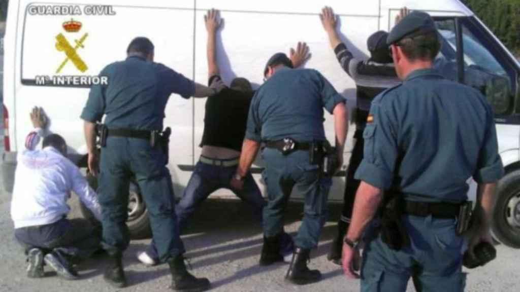 Imagen de archivo de una intervención de la Guardia Civil