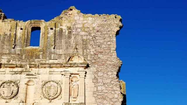 Convento dominico de Villaescusa de Haro antes de ser rehabilitado.