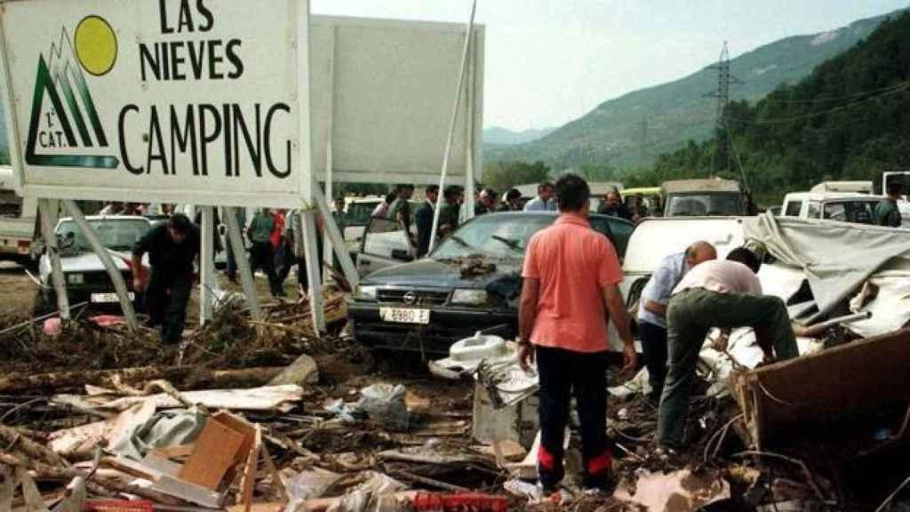 El Camping albergaba a 630 personas en el momento del desastre. Murieron 87.