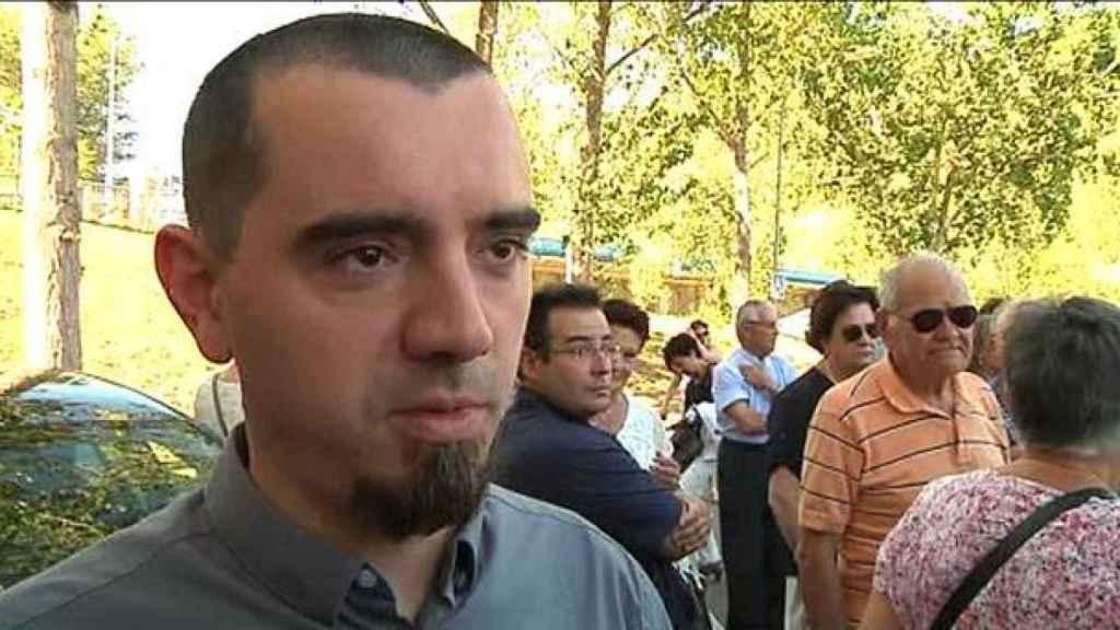 Sergio Murillo perdió a toda su familia aquella tarde