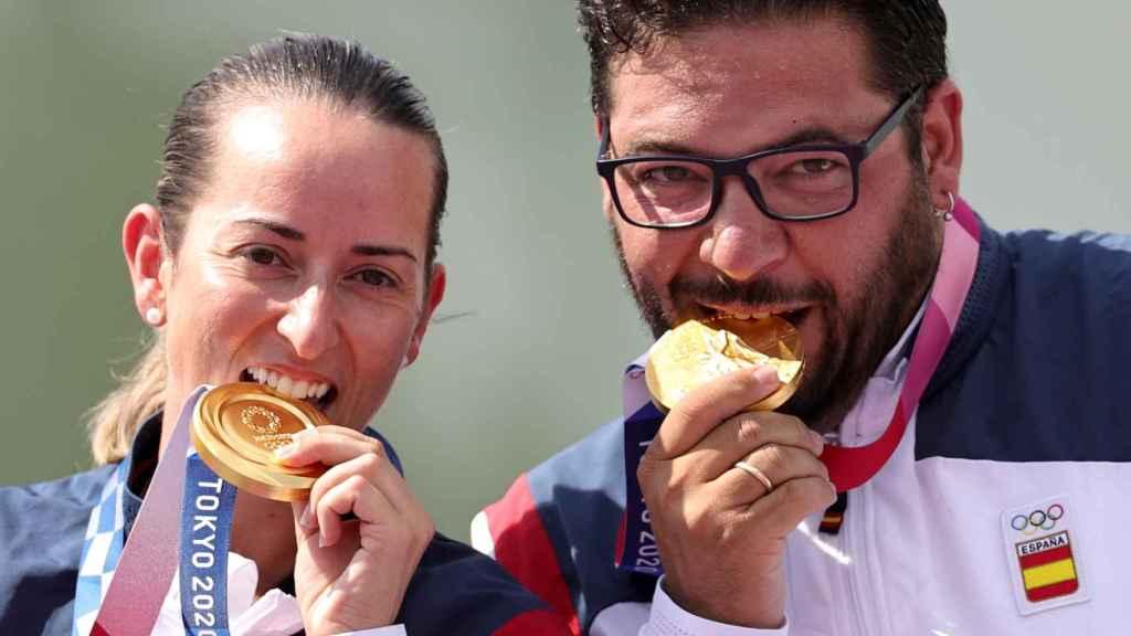 Fátima Gálvez y Alberto Fernández, en los Juegos Olímpicos
