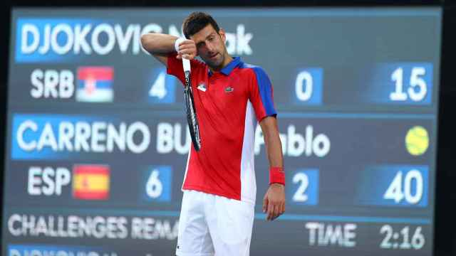 Djokovic, enfadado por su resultado ante Carreño