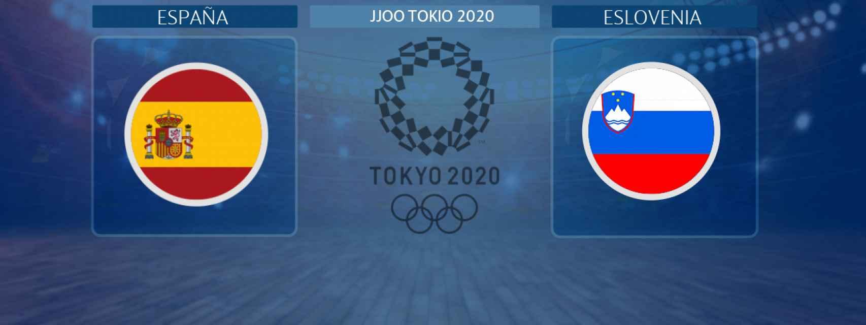 España - Eslovenia, partido de baloncesto masculino de los JJOO Tokio 2020