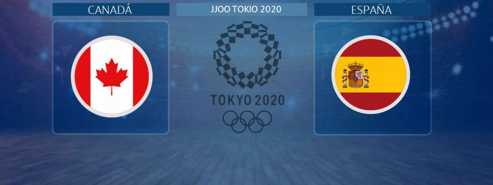 Canadá - España, partido de baloncesto femenino de los JJOO Tokio 2020