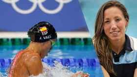 Jessica Vall, durante los Juegos Olímpicos