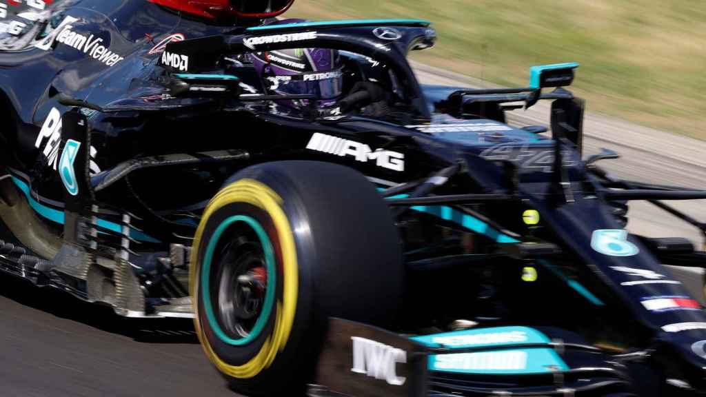 Lewis Hamilton, en el GP de Hungría