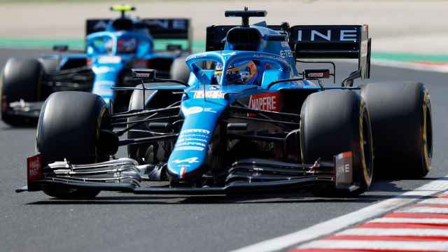 Fernando Alonso, en el GP de Hungría