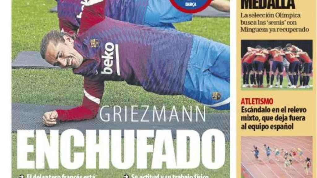 Portada Mundo Deportivo (31/07/21)