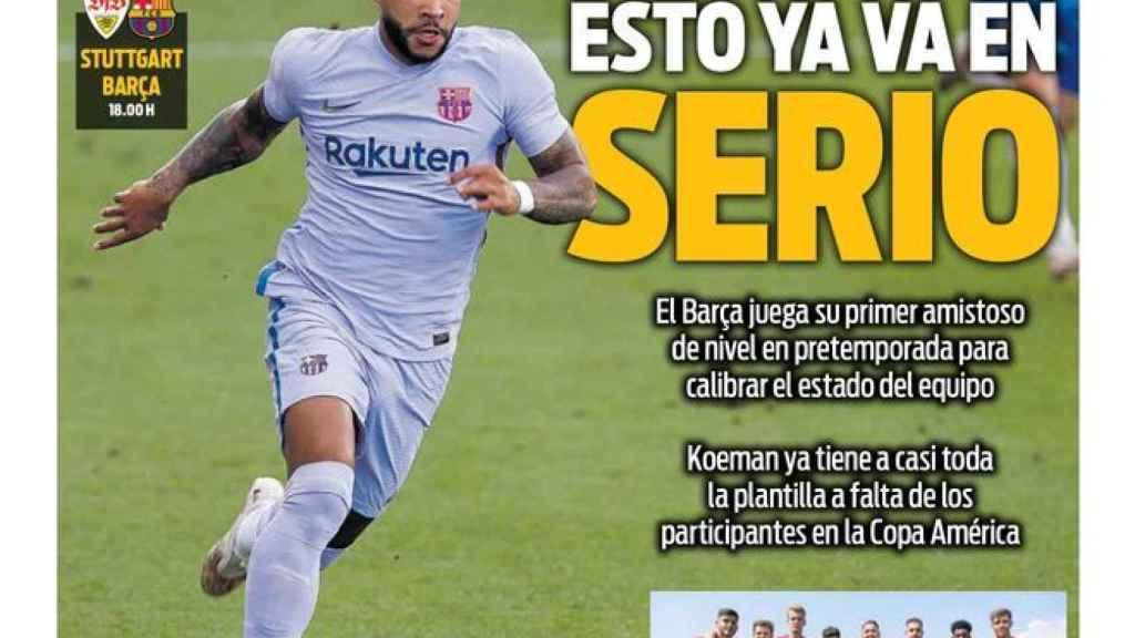 Portada Sport (31/07/21)