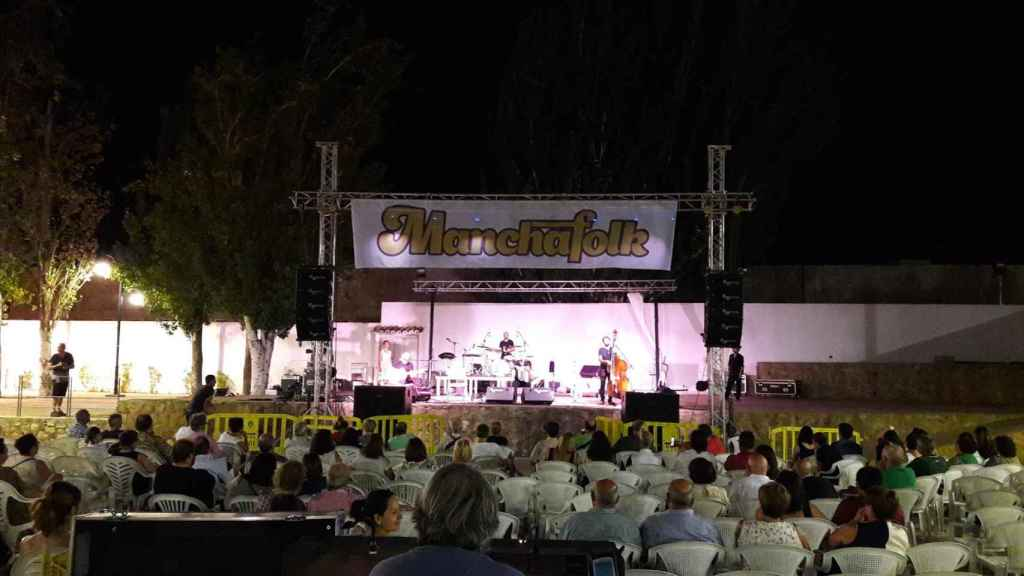 Festival ManchaFolk de Quintanar de la Orden. Imagen de archivo