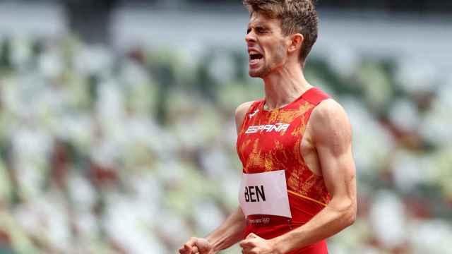 Adrián Ben, en los Juegos Olímpicos
