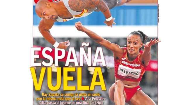La portada del diario AS (02/08/2021)