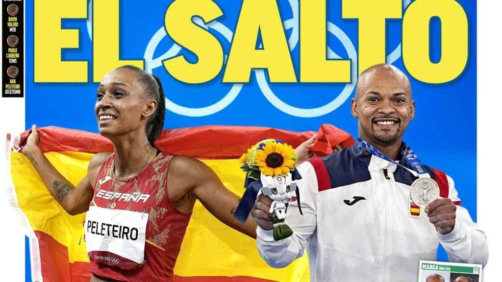 La portada del diario MARCA (02/08/2021)