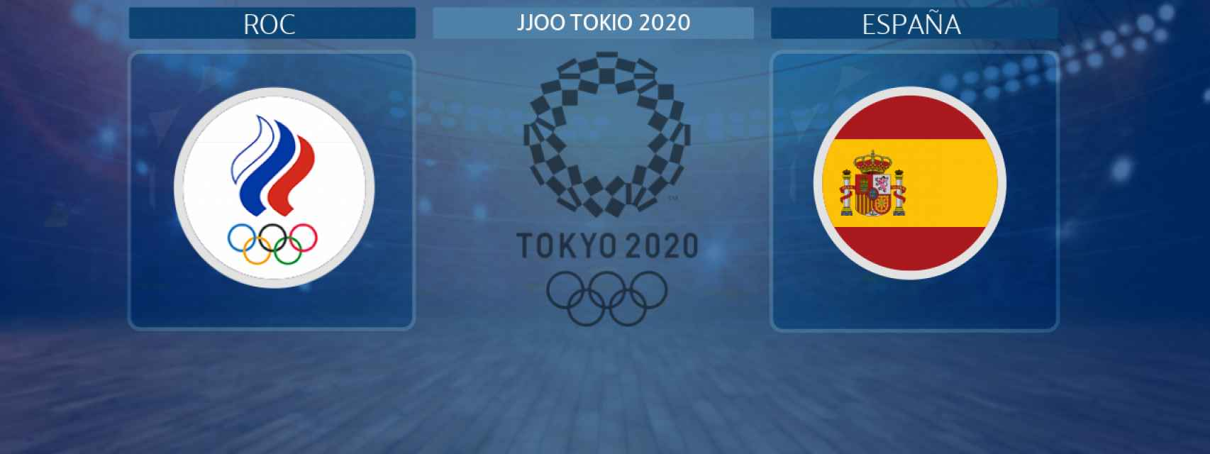 España - ROC, partido de balonmano femenino de los JJOO Tokio 2020