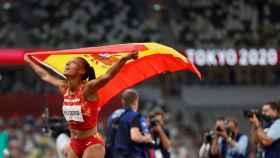 Ana Peleteiro, tras conquistar el bronce en Tokio 2020