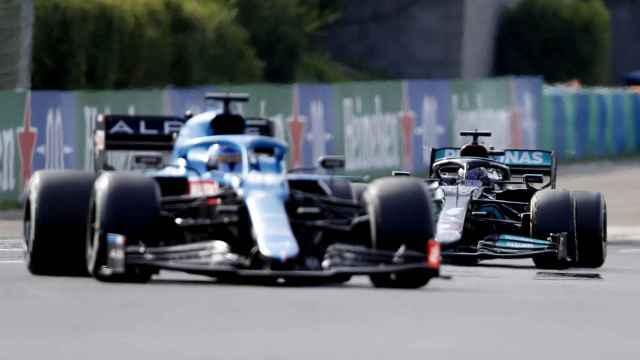 Fernando Alonso y Hamilton, en Hungría
