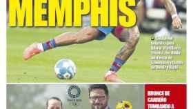 Portada Mundo Deportivo (01/08/21)