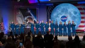 Astronautas de la NASA.