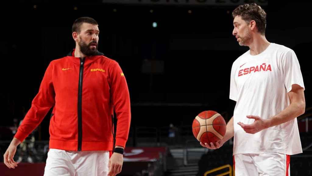 Marc y Pau Gasol, en los Juegos Olímpicos