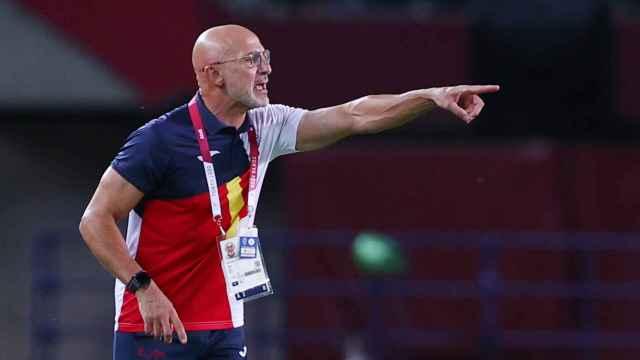 Luis De la Fuente, en los Juegos Olímpicos