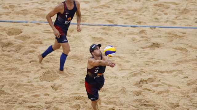 Pablo Herrera y Adrián Gavira, en los Juegos Olímpicos