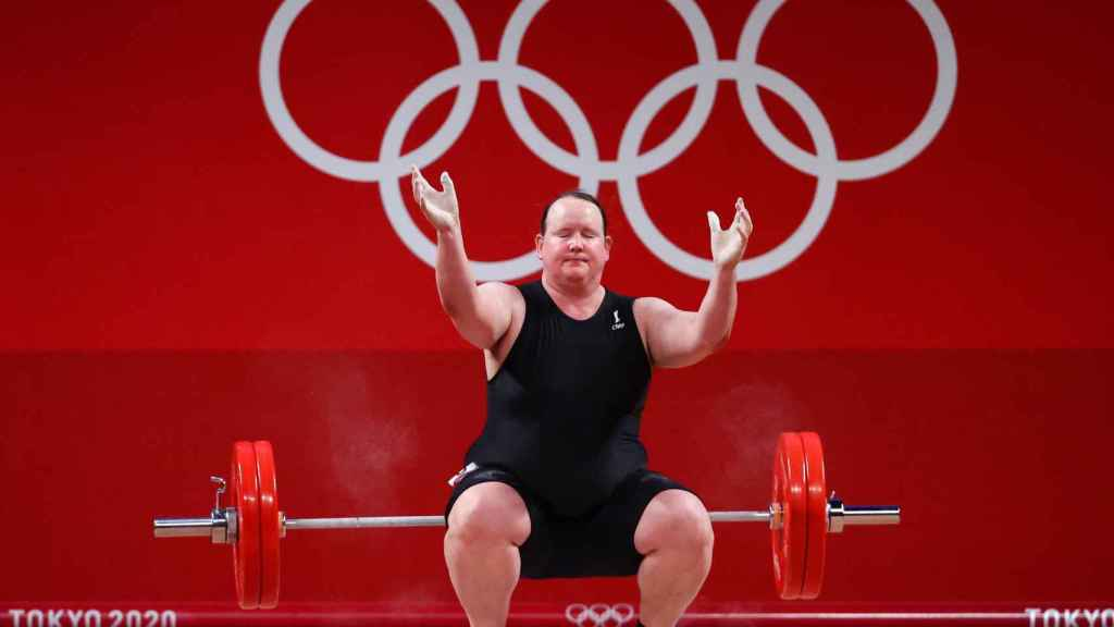 Laurel Hubbard, en los Juegos Olímpicos