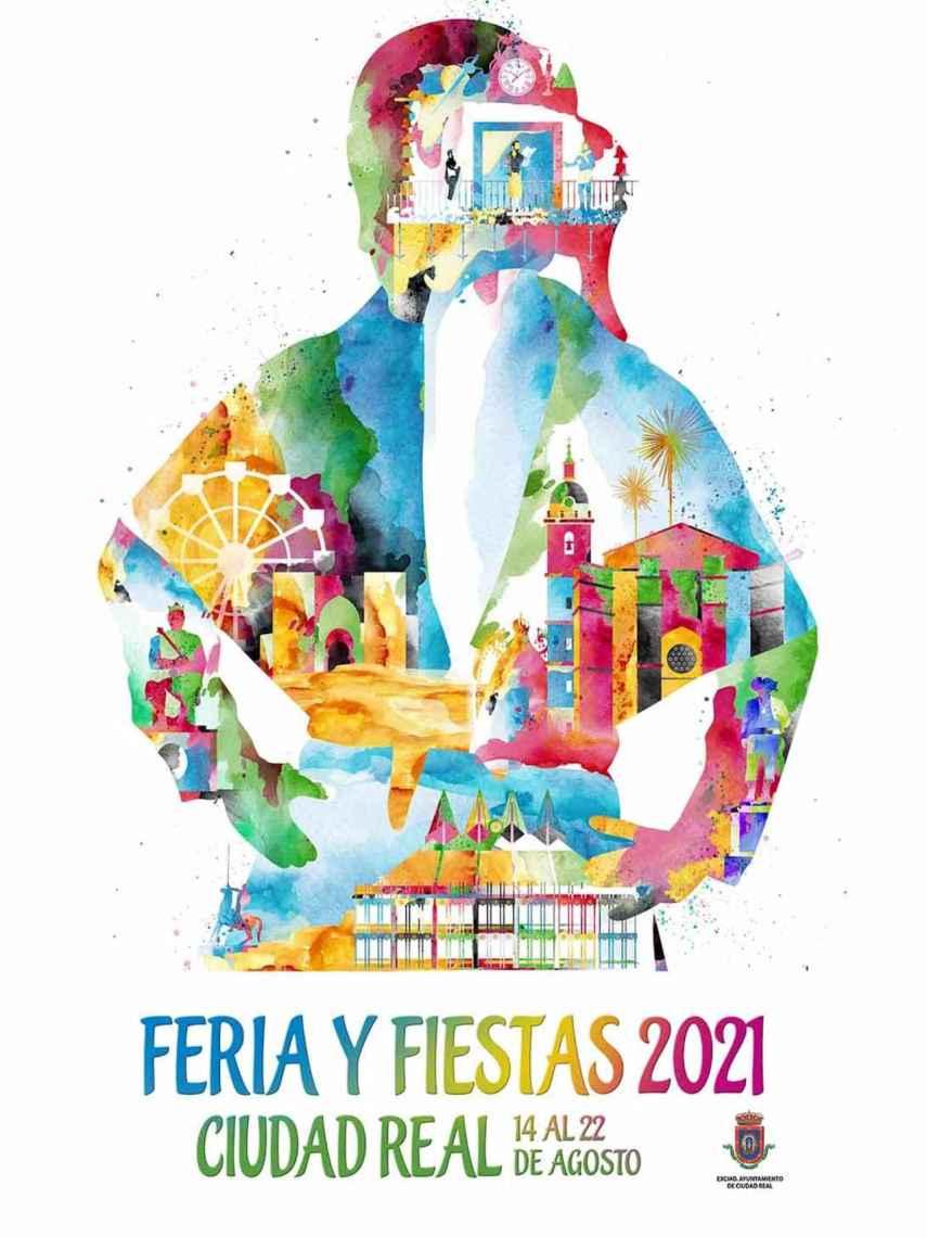 Cartel de las Fiestas de Ciudad Real 2021