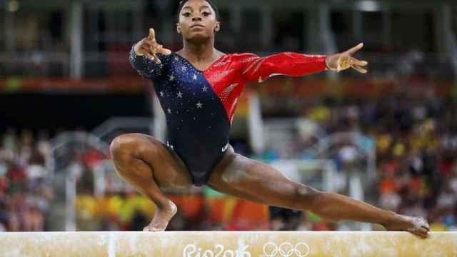 Simone Biles, en los Juegos Olímpicos de Rio 2016