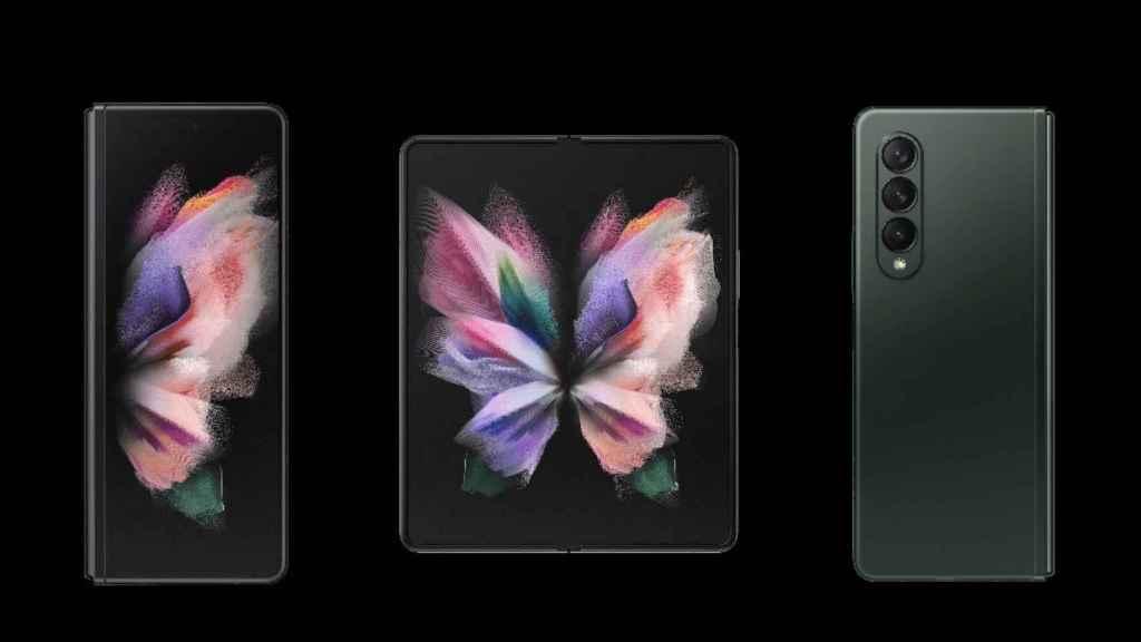 Galaxy Z Fold 3 diseño