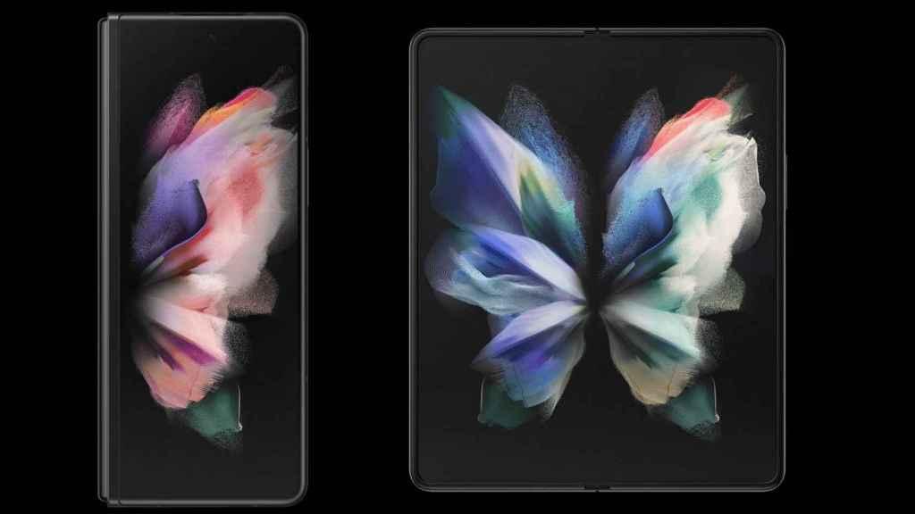 Samsung Galaxy Fold 3 pantallas