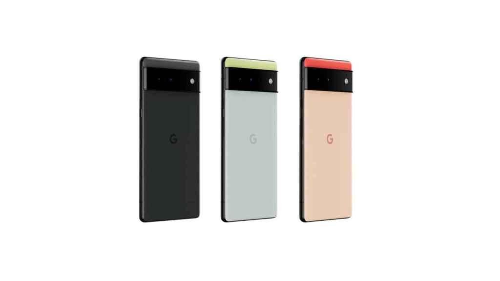 Pixel 6 colors.