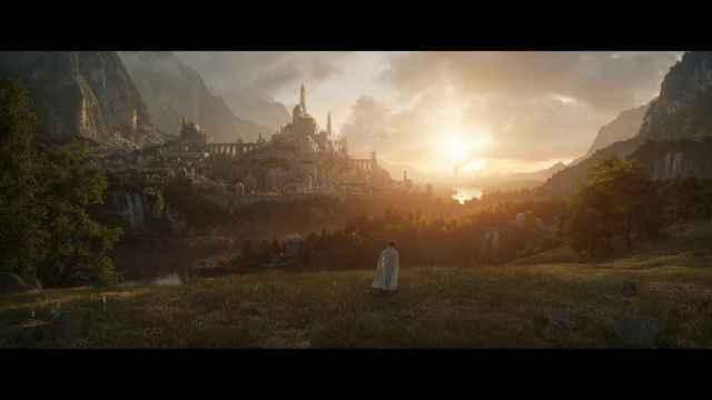 Primera imagen de la serie de 'El señor de los anillos'.