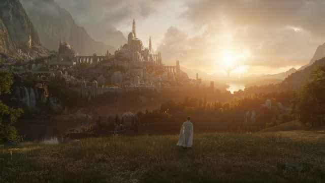 Primera imagen de la serie de 'El señor de los anillos' de Amazon.