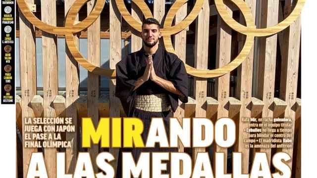 La portada del diario MARCA (03/07/2021)