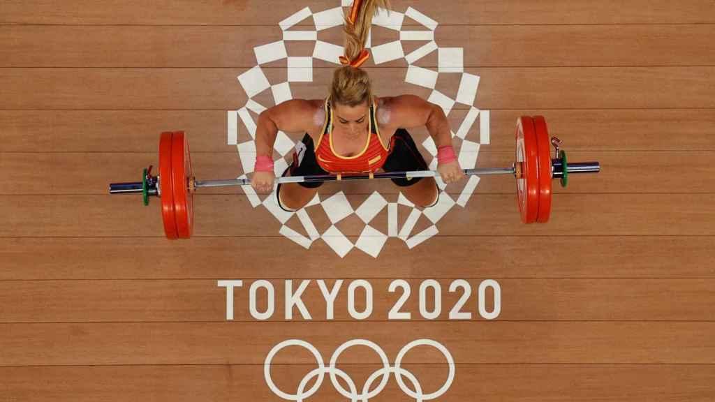 Lydia Valentín en los Juegos Olímpicos de Tokio 2020