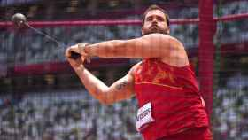 Javier Cienfuegos en los Juegos Olímpicos de Tokio 2020