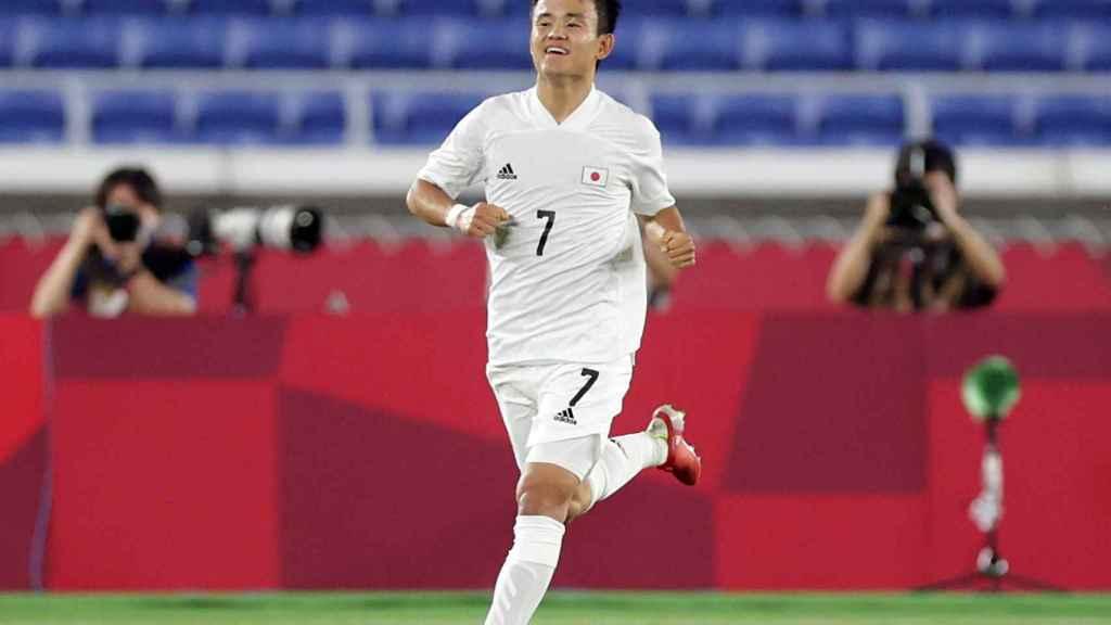 Takefusa Kubo, en los Juegos Olímpicos