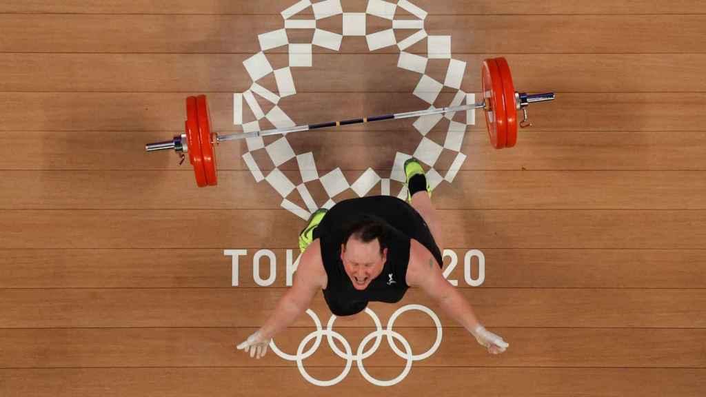 Laurel Hubbard, en los Juegos Olímpicos de Tokio 2020