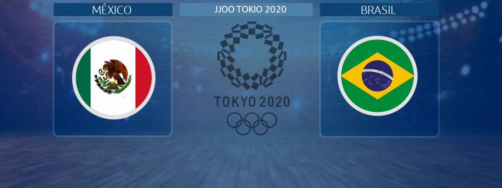 México - Brasil: siga en directo las semifinales de fútbol de los JJOO de Tokio 2020