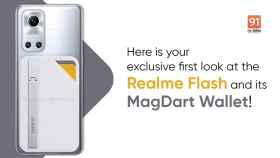 Así es el realme Flash: el primer móvil con carga inalámbrica magnética
